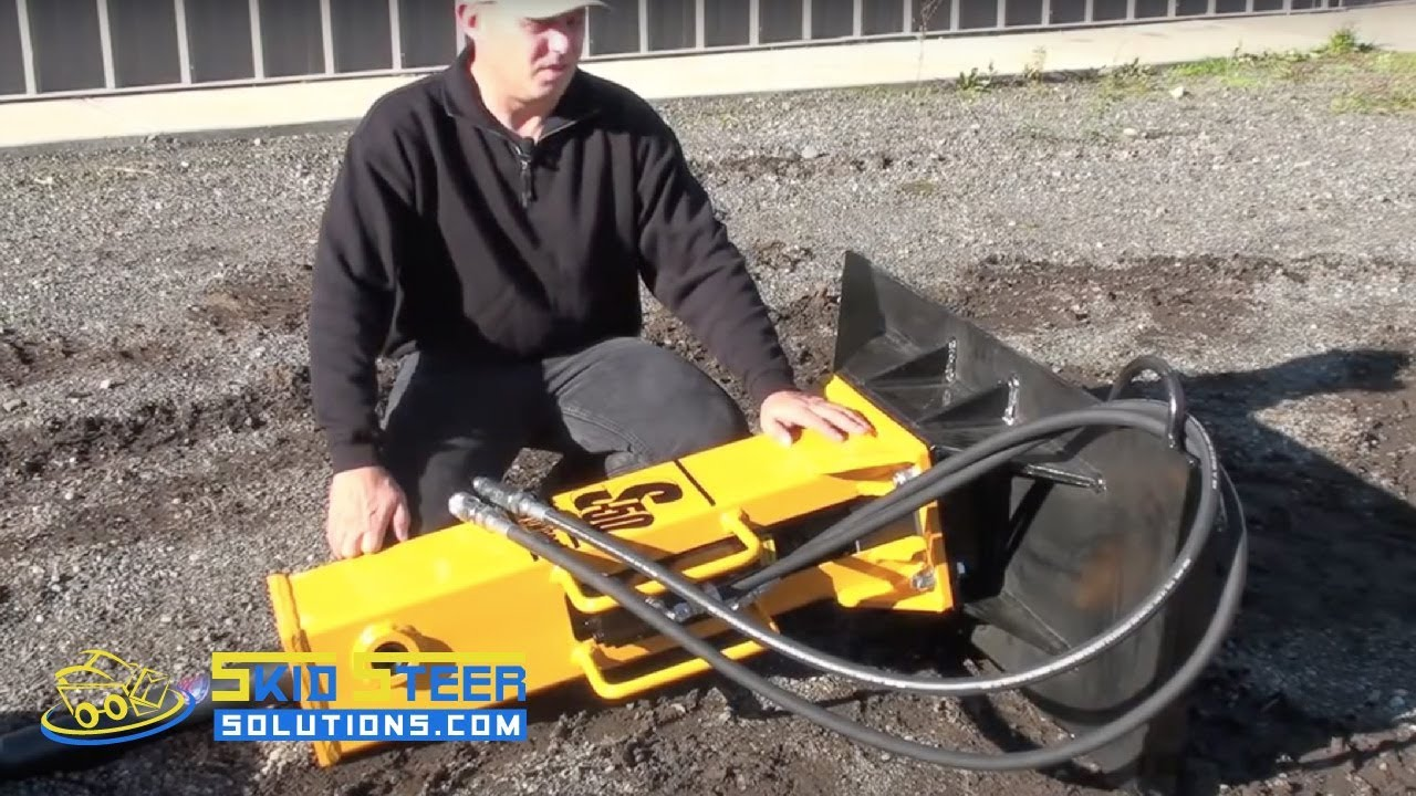 Skid Steer Hydraulic Breaker - Concrete Breaker - S50 Concrete Breaker  Product Introduction