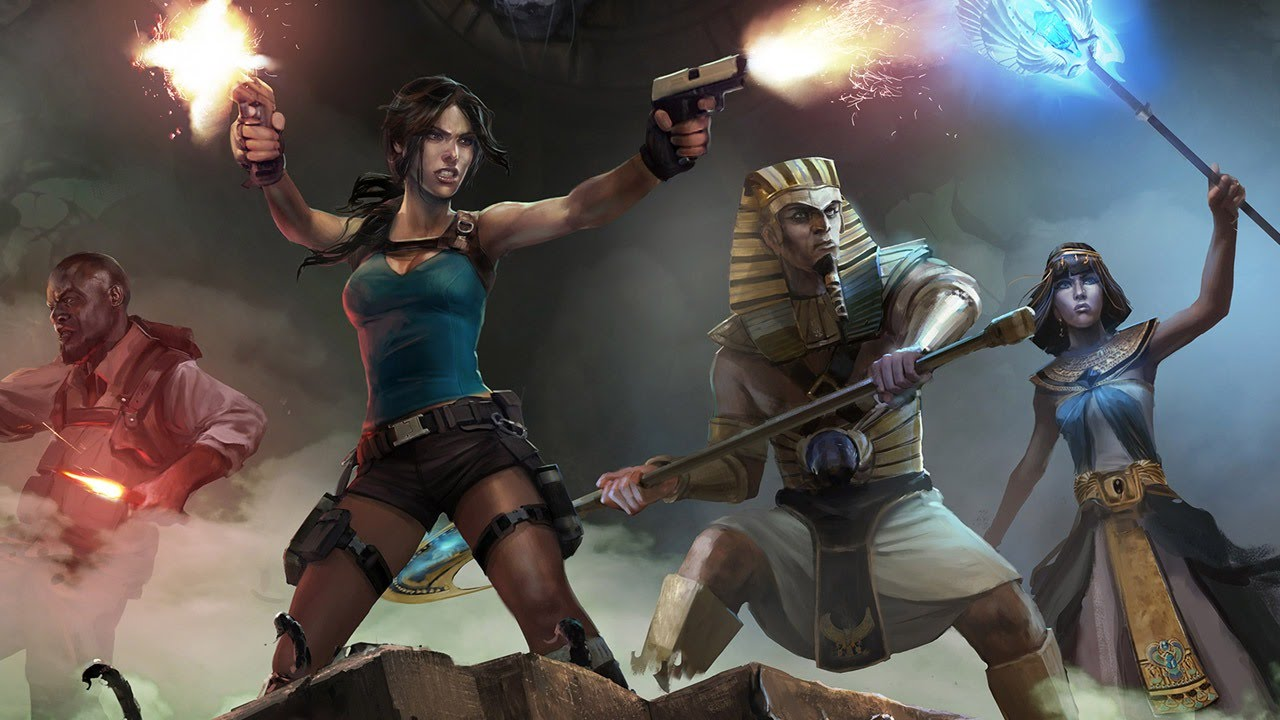 Image result for Lara Croft And The Temple Of Osiris