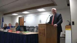 October 22, 2018 School District Budget Hearing Meeting