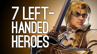7 Left-Handed Heroes and the Unexpected Reasons They're Southpaws