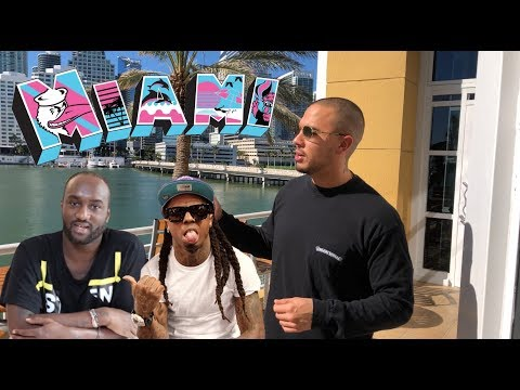 Miami With Virgil Abloh And Lil Wayne