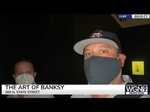 The Art of Banksy is finally open in Chicago!