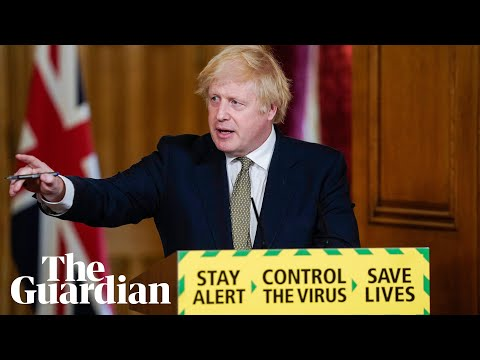 Boris Johnson holds briefing amid calls for Dominic Cummings to go – watch