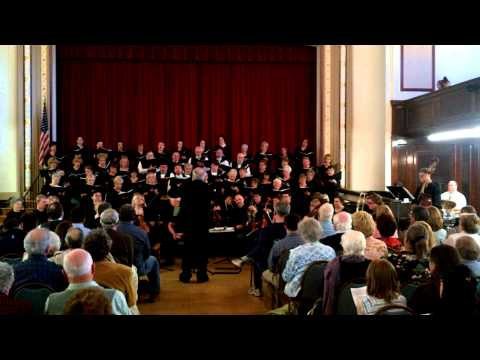 Montachusett Chorale - What A Wonderful World (2011.05.01)