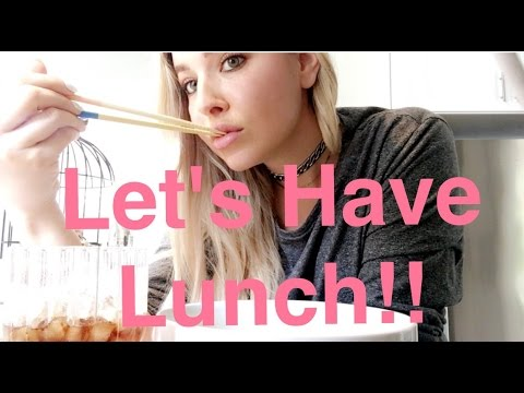 HAVE LUNCH WITH ME!