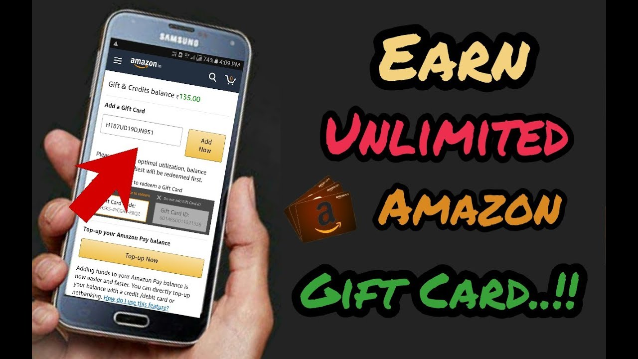 How to Earn Amazon Gift Card Online For Free|| Earn Without ...