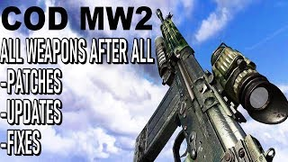COD MW2 - All Weapons 10 Years Later
