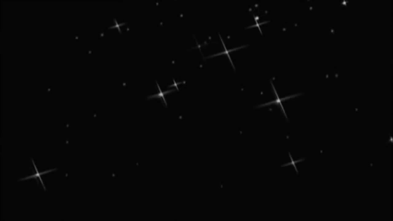 Star Magic Effect 2 Black Background