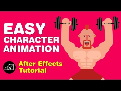 EASY Character Animation Tutorial in After Effects (No Plugin)