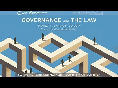 Lancement à Paris du Rapport de la Banque mondiale sur le développement dans le monde 2017 #WDR2017