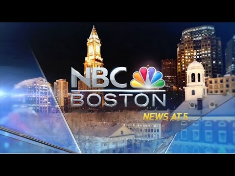 WBTS NBC Boston News at 5pm - First Newscast - HD