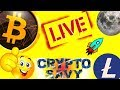 🔥Cryptosavy LIVE🔥, Bitcoin and Litecoin price prediction and charts, trading