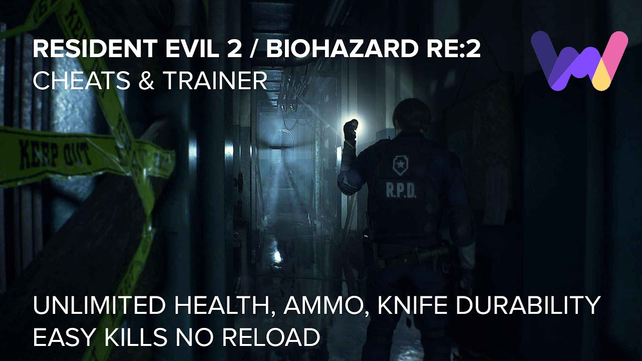 RESIDENT EVIL 2 / BIOHAZARD RE:2 Cheats and Trainer