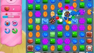 Candy Crush Saga   level 185 no boosters