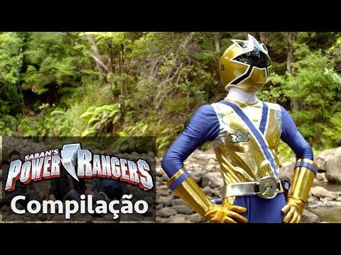 Power Rangers em Português   Momentos emocionantes do Super Samurai!
