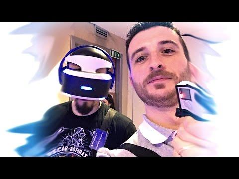 PLAYSTATION VR: VUOI SAPERE COM'È?