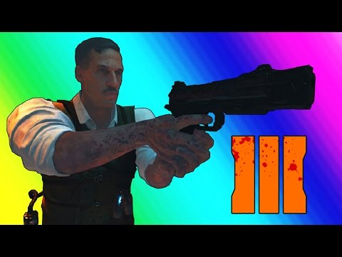 Black Ops 3 Zombies: The Giant - Boring Window Strategy and Easter Egg Pistol!
