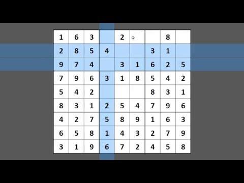 Resolvendo Sudoku #003 hard - difícil - dicas - puzzle - tecnicas - passo a passo