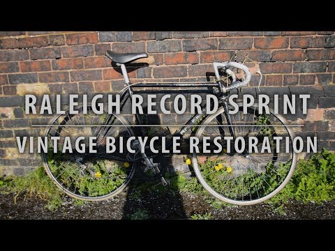 1985 Raleigh Record Sprint - Vintage Bicycle Restoration - Part 1