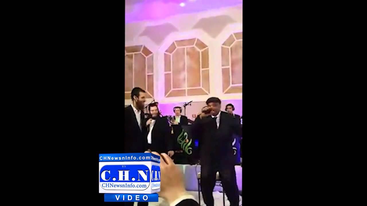 Raymond Der Goy Sings at a Jewish Wedding in Boro Park