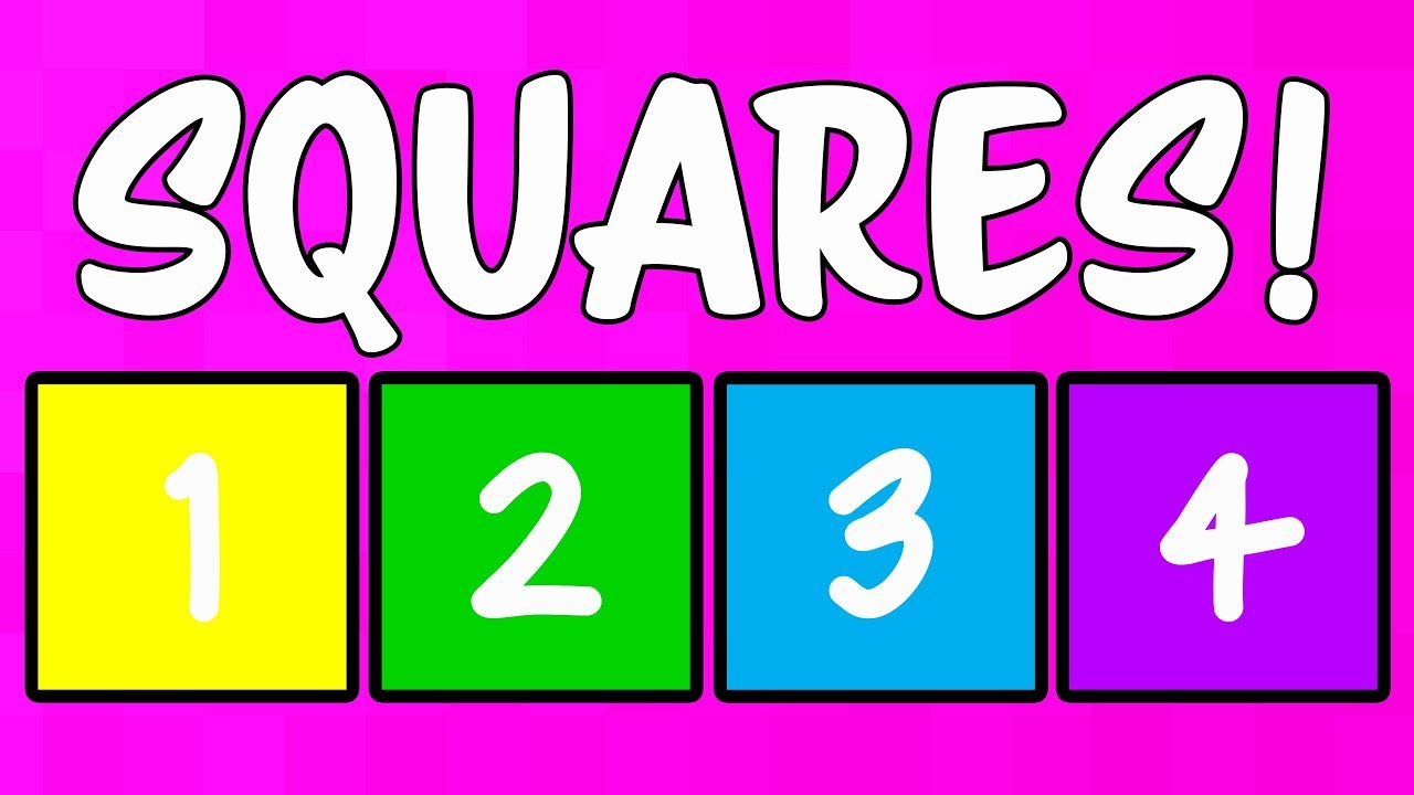 Square Song for Kids - Learning the Shape Square - Shape ...  Square Song for...