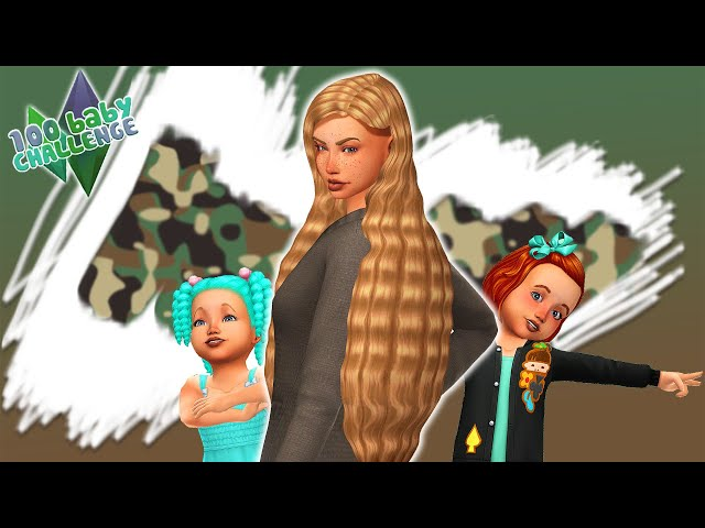 100 Baby Challenge S04E10 || Felhívás nektek! // THE SIMS 4