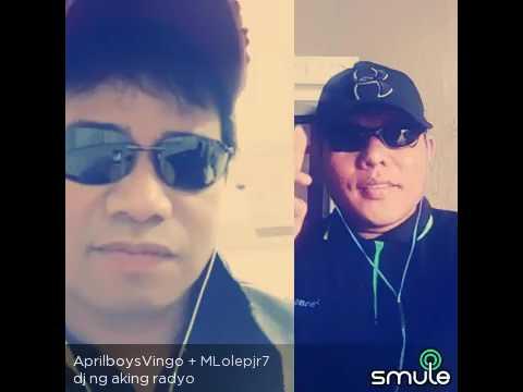 Dj ng aking Radyo w/ idol april boy vingo Regino ang galing nya👍😅