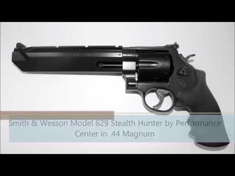 Smith & Wesson Model 629 Stealth Hunter