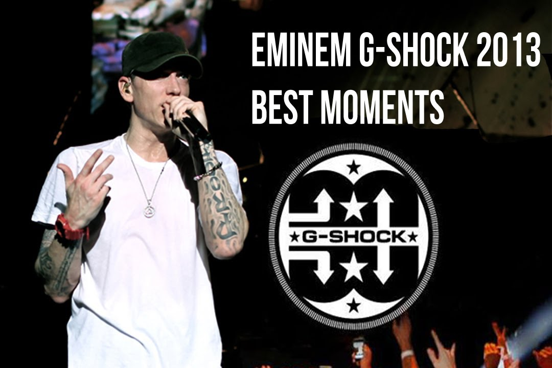 Eminem G-Shock 2013 Best Moments! - YouTube