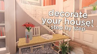 How to Decorate your House in Bloxburg