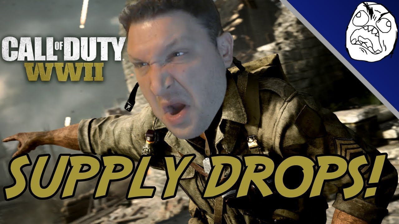 cod wwii how to get zombie supply drop