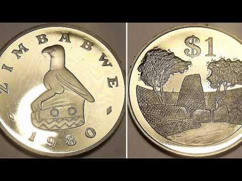 Zimbabwe 1980 One Dollar $1 Coin WORTH?