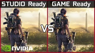 Nvidia Studio Ready Vs Game Re…