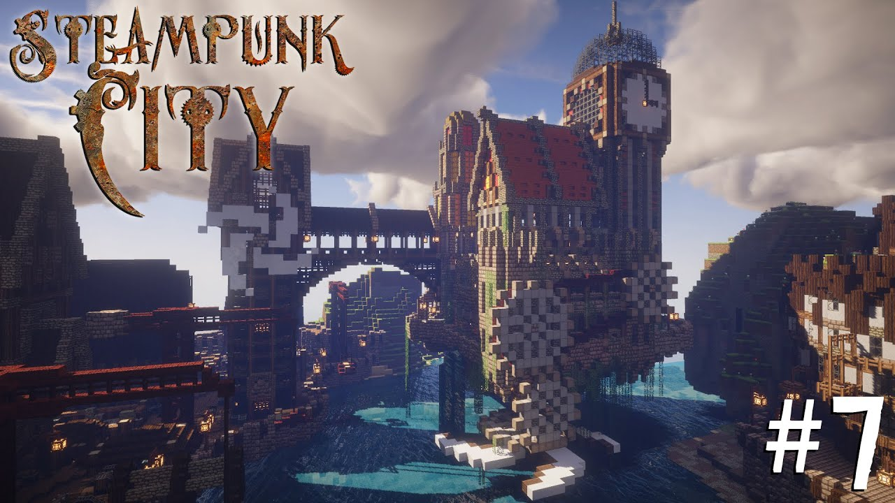 Minecraft Steampunk City - Let's Build It! #7 [Imperial ...