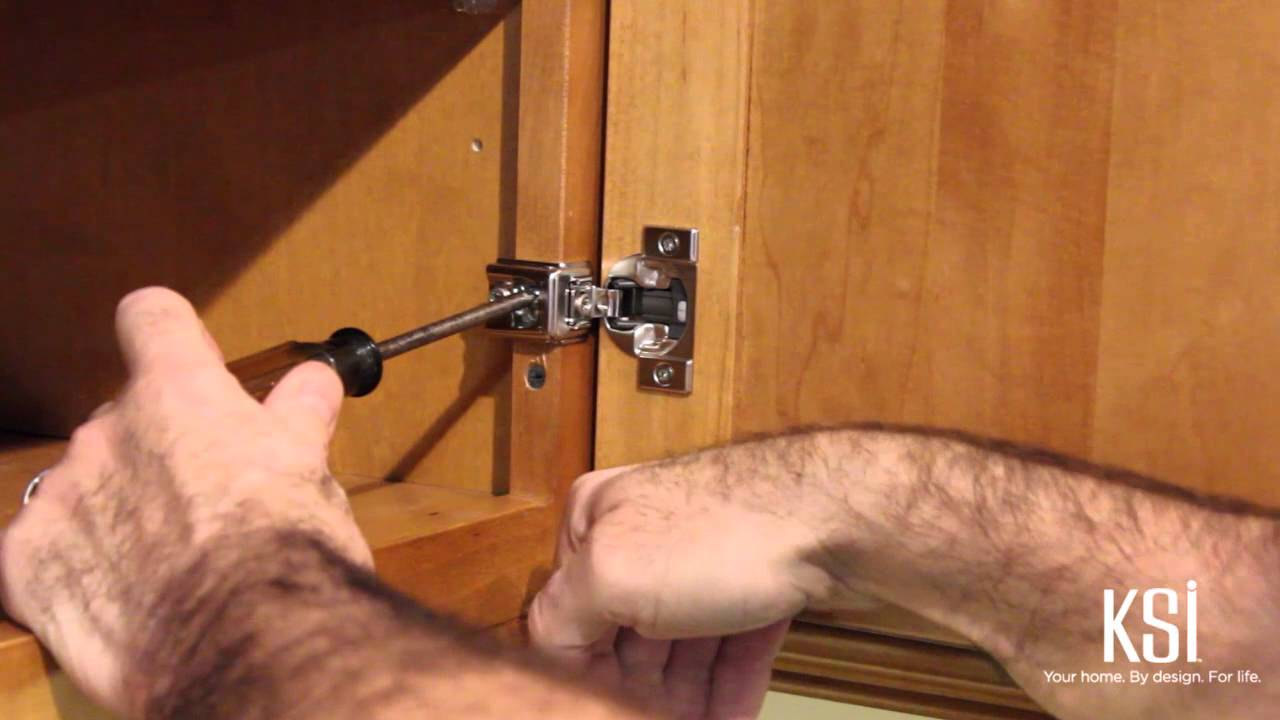 How To Use Adjustable Cabinet Door Hinges And Drawer Guides