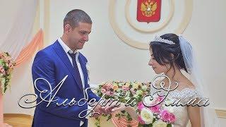 Свадьба Альберта и Эммы, видеоролик.