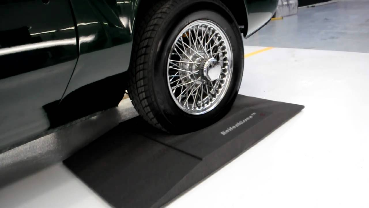 Tires 4 Less >> Prevent Tyre/Tire Flat Spots with the Reifenkissen Tyre Cushion - YouTube