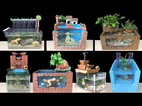 TOP 10 DIY Aquarium Decoration Ideas | How To Make Fish Tank At Home Ideas | Home Decoration
