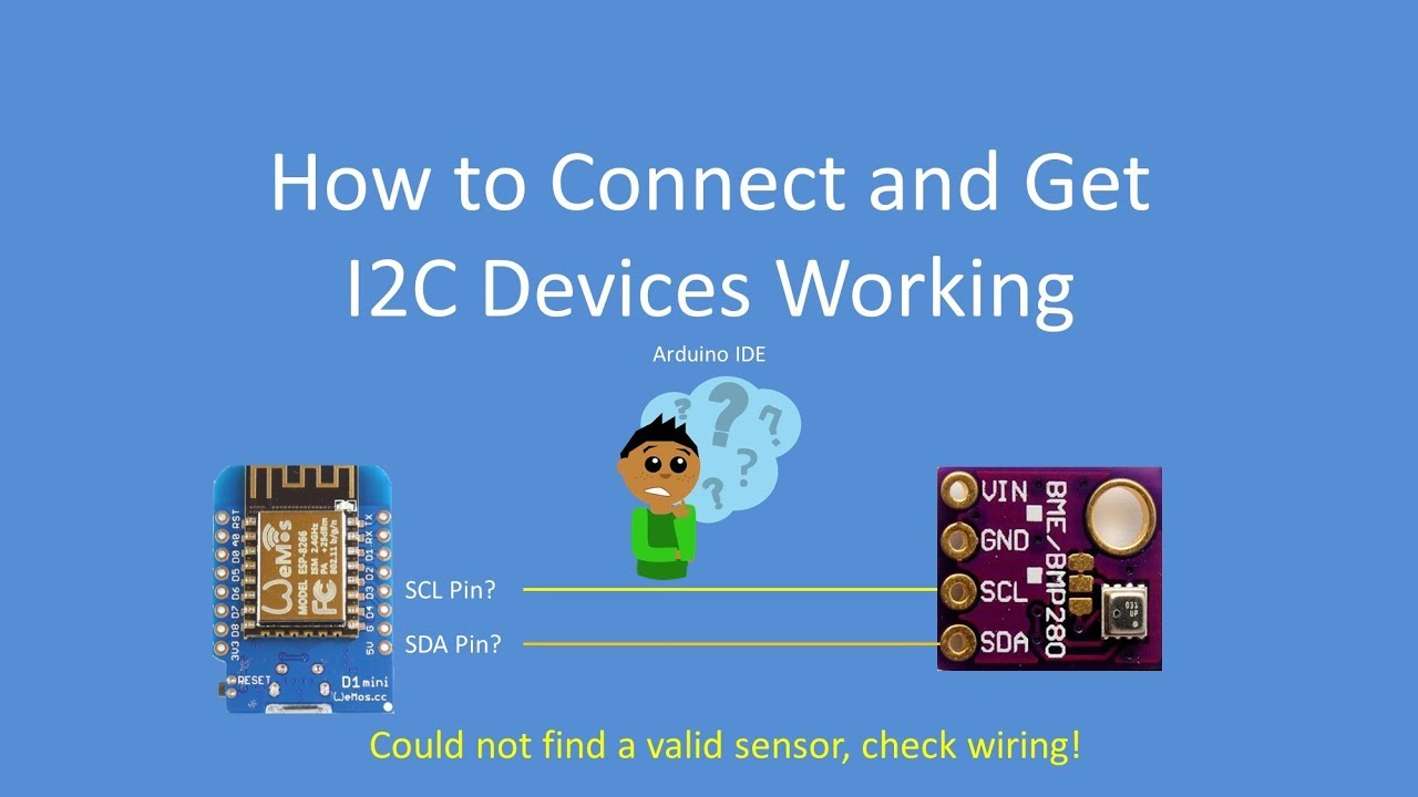Tech Note 075 - How to connect and get I2C devices working (Arduino, ESP32,  ESP8266)