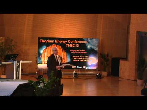 Thorium Nuclear Power and non Proliferation   Hans Blix   IAEA   ThEC13
