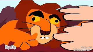 Вырезаная сцена из короля льва!(флипа клип) ПАРОДИЯ (ОРИГ. В ОПИС)