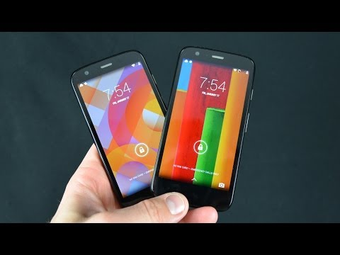 Motorola Moto G vs Google Play Edition: Unboxing & Review