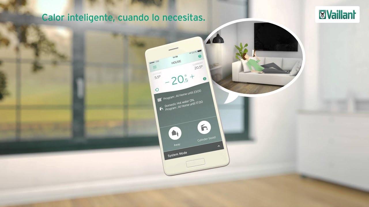 Vsmart termostato modulante wifi youtube for Termostato caldera wifi