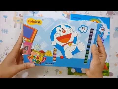 Đồ chơi trẻ em hộp màu DOREMON Tô màu DOREMON và NOBITA (phim hoạt hình DOREMON)