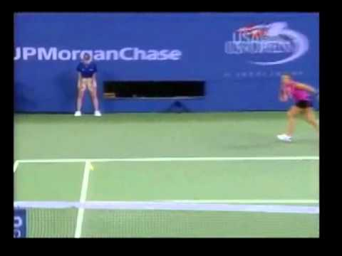 Serena Williams vs Jennifer Capriati Blown Calls