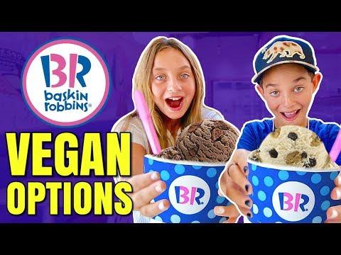 Baskin Robbins Goes Vegan / Vegan Ice Cream Taste Test