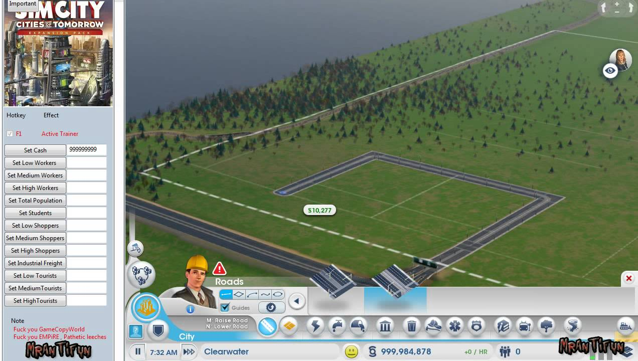 Simcity 5 cities of tomorrow offline trainer 13