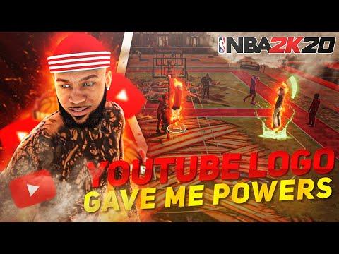 TRULY ANGEL'S YOUTUBE LOGO GAVE ME SUPER-POWERS😱! NBA 2K20