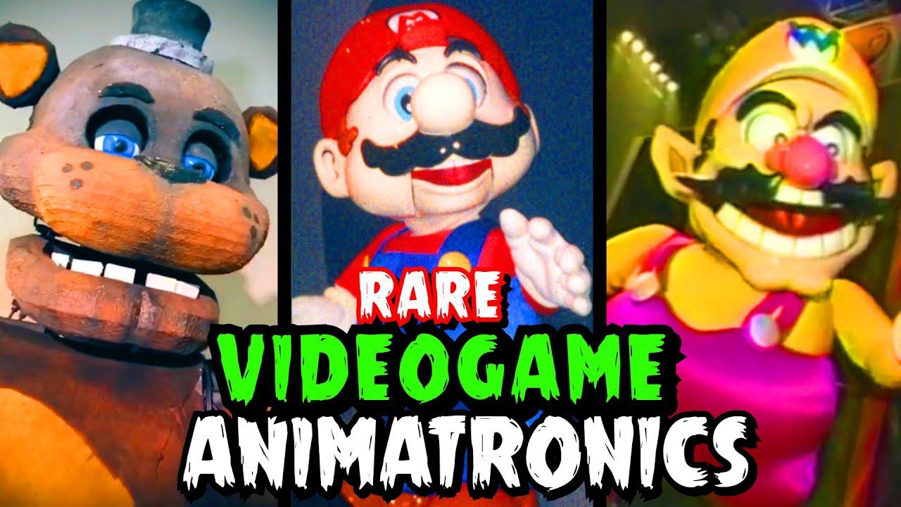 Rare Videogame Animatronics