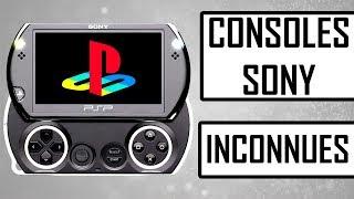 6 CONSOLES DE SONY INCONNUES
